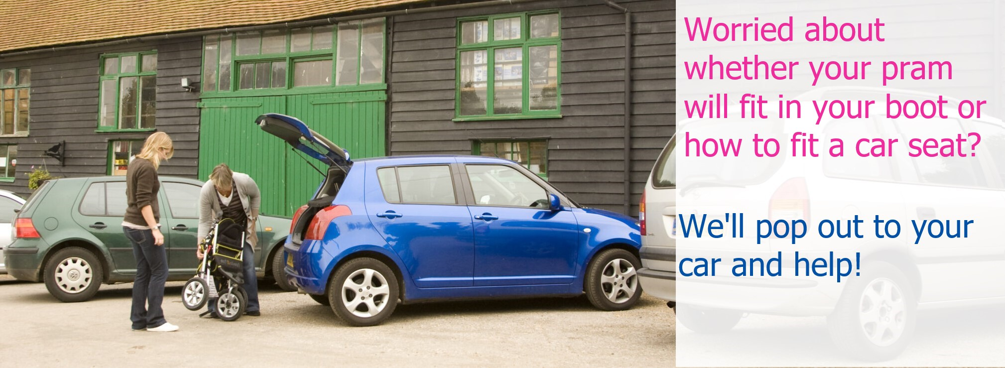 We can help you to make sure everything fits your car.